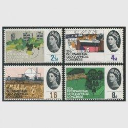 イギリス 1964年第20回国際地理学会議4種