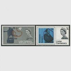 イギリス 1965年リスターの防腐手術100年2種