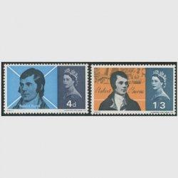 イギリス 1966年ロバート・バーンズ2種