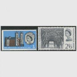イギリス 1966年ウェストミンスター寺院900年2種