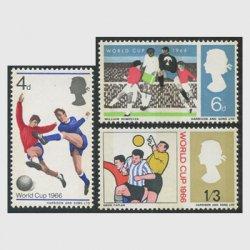 イギリス 1966年ワールドカップサッカー燐線入り3種
