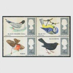 イギリス 1966年イギリスの鳥燐線入り4種