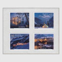 スイス 2018年クリスマス4種