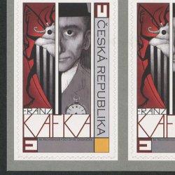 チェコ共和国 2013年作家フランツ・カフカ切手帳