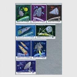 ハンガリー 1964年アメリカとソ連の宇宙開発8種