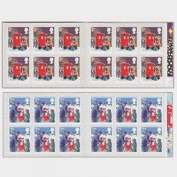 イギリス 2018年クリスマス切手帳