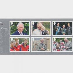 イギリス 2018年チャールズ皇太子70歳ミニチュアシート