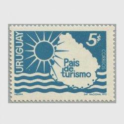 ウルグアイ 1970年太陽と海