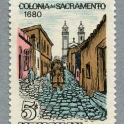 ウルグアイ 1970年サクラメント デル コロニア