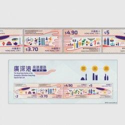 中国香港 2018年広深港高速鉄道開通記念