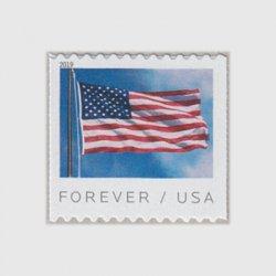 アメリカ 2019年普通切手・国旗コイル