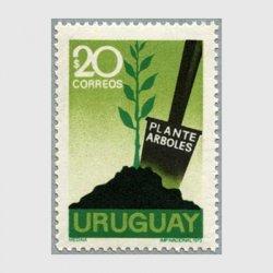 ウルグアイ 1972年植樹