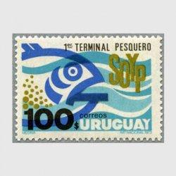 ウルグアイ 1973年漁の街モンテビデオ
