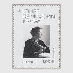 フランス 2019年ルイーズ・ド・ヴィルモラン