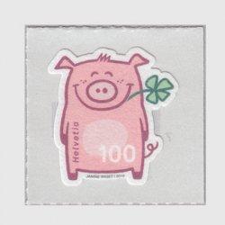 スイス 2019年幸運の豚