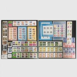 フランス 2008年発行セルフ糊切手、切手帳、Pスタンプ27種