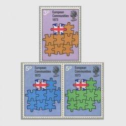 イギリス 1973年EC加盟3種