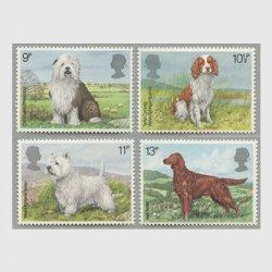 イギリス 1979年イギリスの犬4種