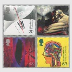 イギリス 1999年千年紀1次発明4種
