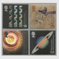 イギリス 1999年千年紀8次科学4種