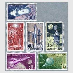 チェコスロバキア 1962年宇宙船6種