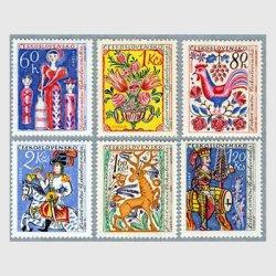 チェコスロバキア 1963年民芸品6種