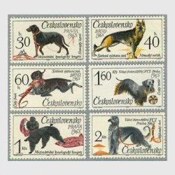 チェコスロバキア 1965年犬6種