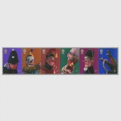 イギリス 2001年人形劇パンチとジュディ6種連刷