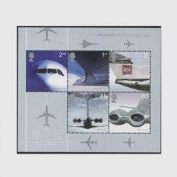 イギリス 2002年飛行機小型シート