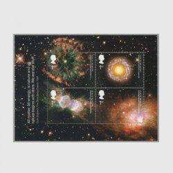 イギリス 2002年天文学小型シート
