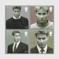 イギリス 2003年ウィリアム王子21歳4種