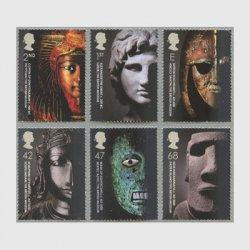 イギリス 2003年大英博物館50年6種