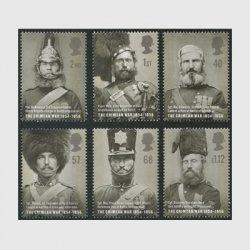 イギリス 2004年クリミア戦争6種