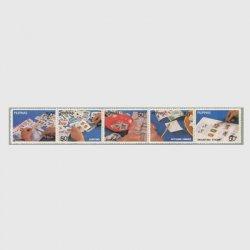 フィリピン 1983年切手収集5種連刷