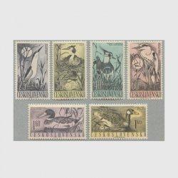チェコスロバキア 1960年鳥6種