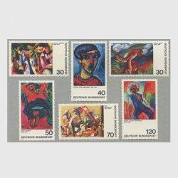 西ドイツ 1974年絵画6種