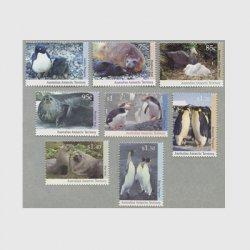 豪州南極地方 1992-93年南極の動物8種