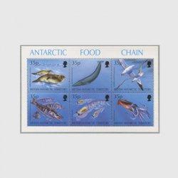 英領南極 1994年南極の食物連鎖シート