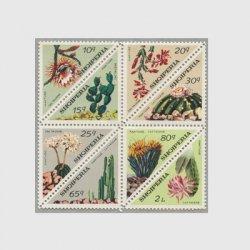 アルバニア 1973年サボテンの花8種連刷