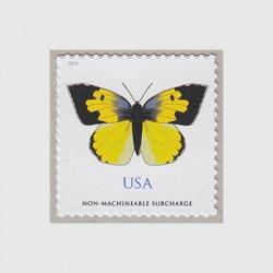 アメリカ 2019年普通切手「蝶」