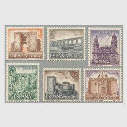 スペイン 1977年観光切手6種