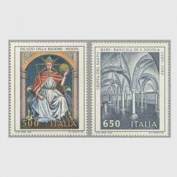 イタリア 1989年文化遺産2種