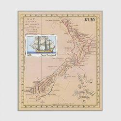 ニュージーランド1990年 Stamp World London'90 小型シート