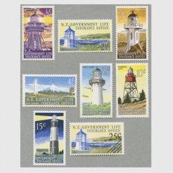 ニュージーランド 1969-78年灯台8種