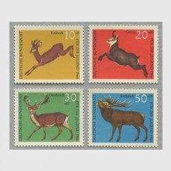 西ドイツ 1966年ノロジカなど4種