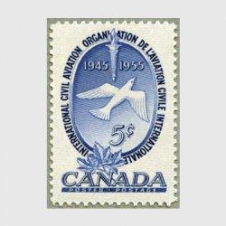 カナダ 1955年ICAO10年