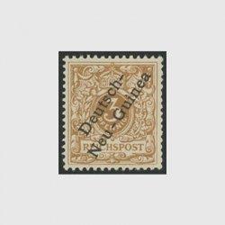 ドイツ領ニューギニア 1899年加刷切手3pf
