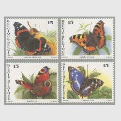 ベルギー 1993年蝶4種