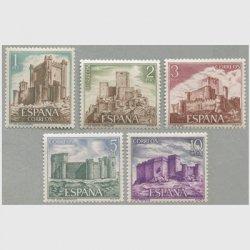 スペイン 1972年城5種