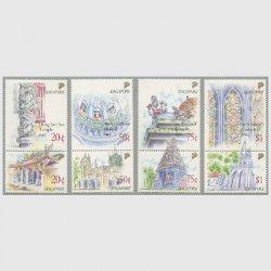 シンガポール 1991年建造物8種